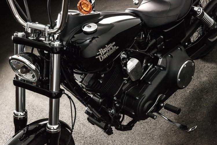 Black and Chrome Harley